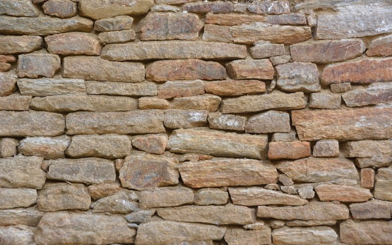fast stone wall construction